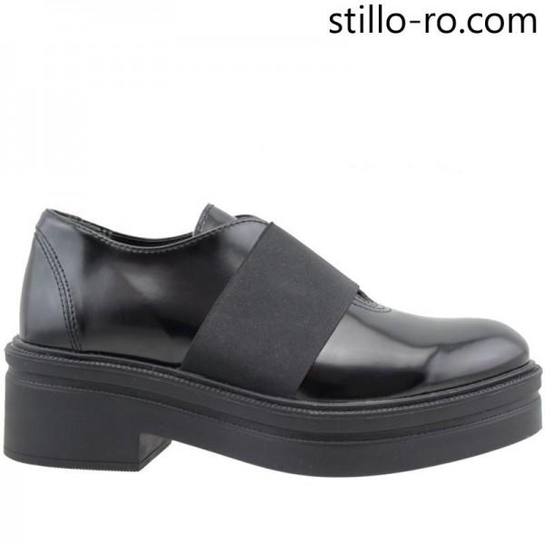 Pantofi de dama cu talpa groasa - 25150