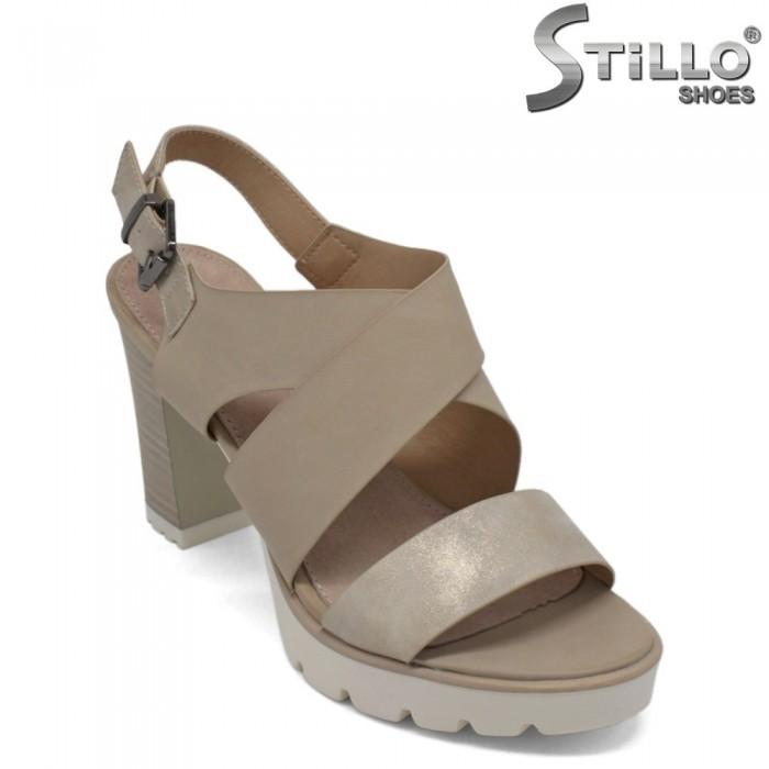 Sandale dama cu toc inalt - 27147