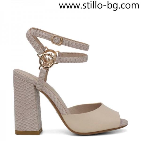 Sandale dama cu toc inalt cu masuri mici 33, 34, 35 - 29136