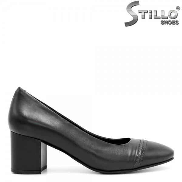 Pantofi de dama pentru zi de zi, pe toc mediu - 29430