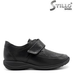 Pantofi negri de damă cu talpă ortopedică - 29466
