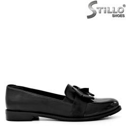 Pantofi din piele si lac negru,incepand de la  №34 - 29578