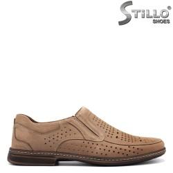 Pantofi barbati de culoare bej - 26763
