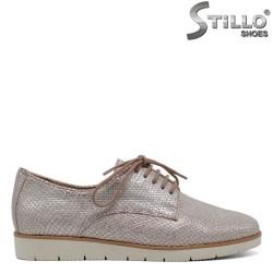 Pantofi de dama din piele  Caprice cu talpa sportiva - 30087