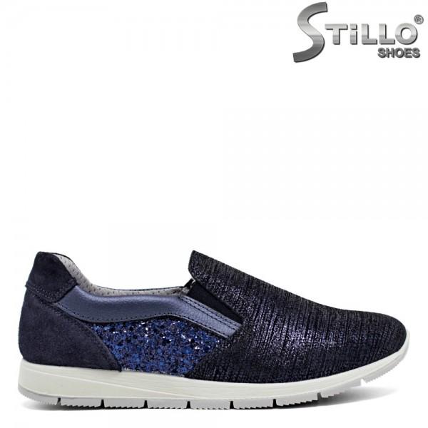 Pantofi italienesti marca IMAC de culoare albastru - 30129
