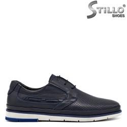 Pantofi barbatesi din piele naturala - 30159