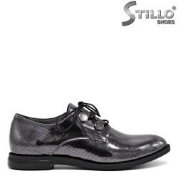 Pantofi moderni cu sireturi - 30170