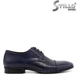 Pantofi eleganti de culoare albastru - 30177