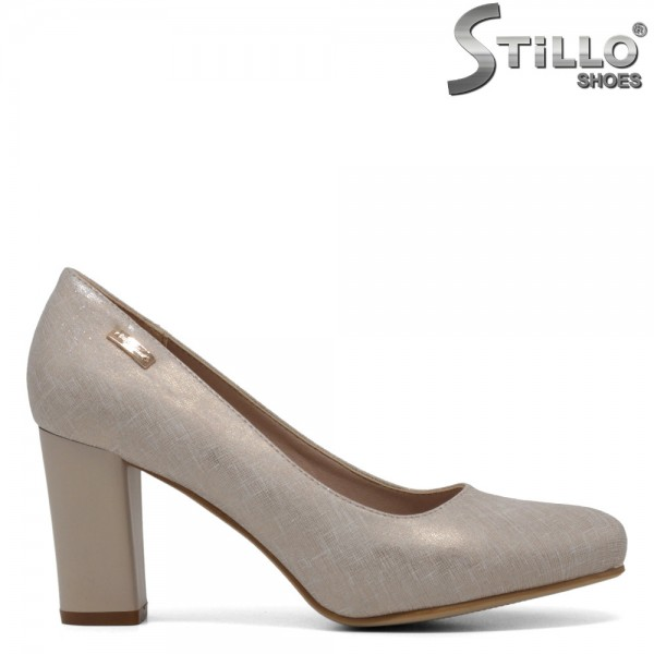 Pantofi eleganti aurii - 30219