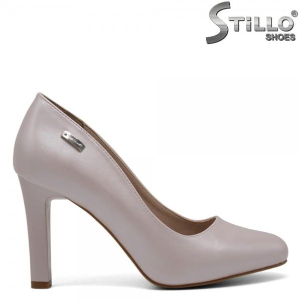 Pantofi de ocazie cu toc stabil - 30223