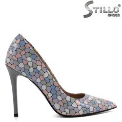 Pantofi eleganti in culori pastelate - 30271