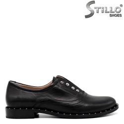Pantofi de dama eleganti cu capse si toc mic - 30326