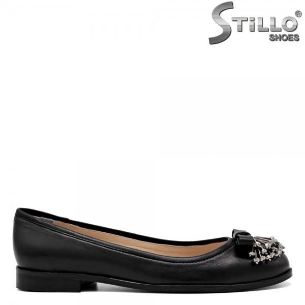 Pantofi de dama cu margele metalice - 30360