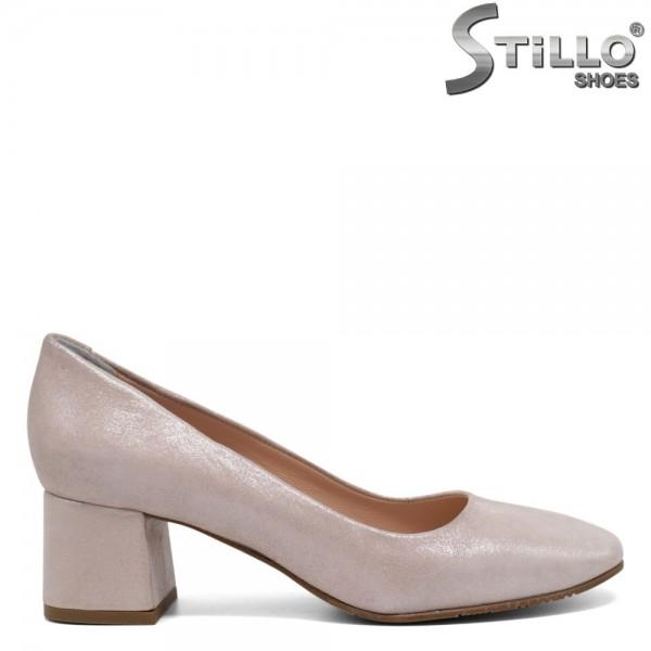 Pantofi de dama roz perlat - 30361