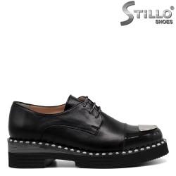 Pantofi de dama cu sireturi - 30363