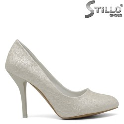 Pantofi eleganti cu toc inalt - 30411