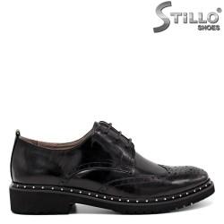 Pantofi Oxford din piele naturala - 30452