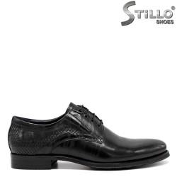 Pantofi barbatesti din piele naturala - 30486