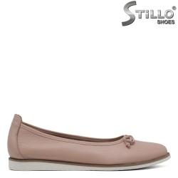 Pantofi de dama de culoare roz cu talpa dreapta - 30499