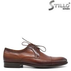 Pantofi barbatesti de culoare tutun - 30504
