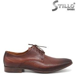 Pantofi barbatesti piele naturala- 30509