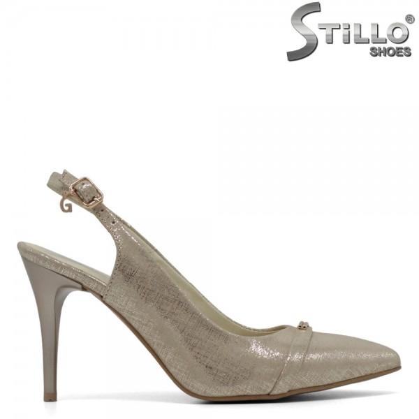 Pantofi aurii-marimi mici de la nr 34 - 30562