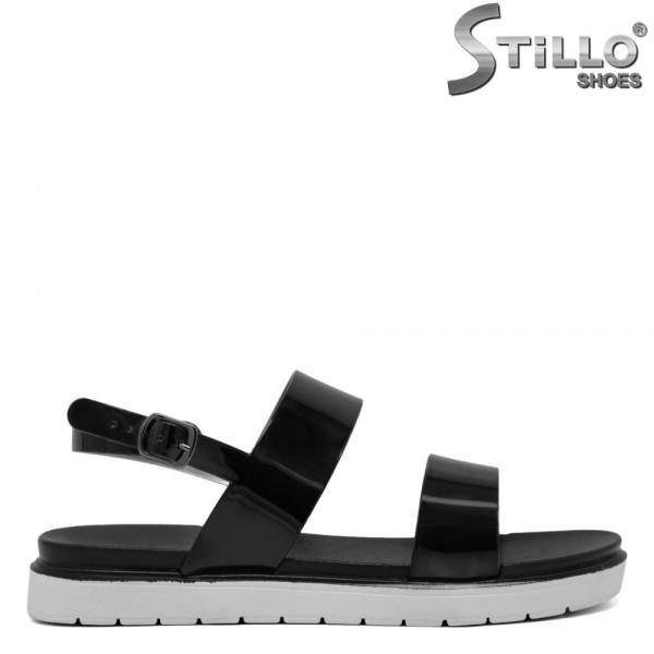 Sandale de zi cu zi din lac negru - 30652