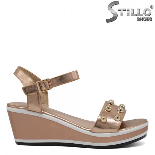 Sandale cu rapide si platforma - 30661