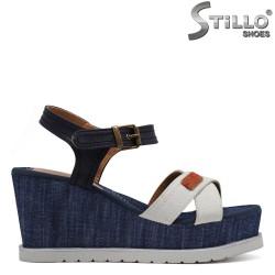 Jeans sandale  platforma - 30667