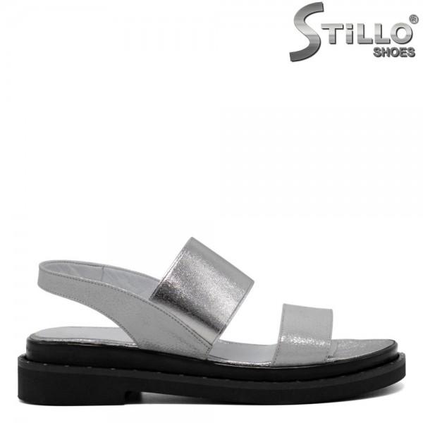 Sandale dama piele cu elastic la glezna - 30701