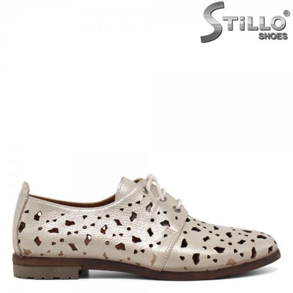 Pantofi de vara cu perforatie - 30708