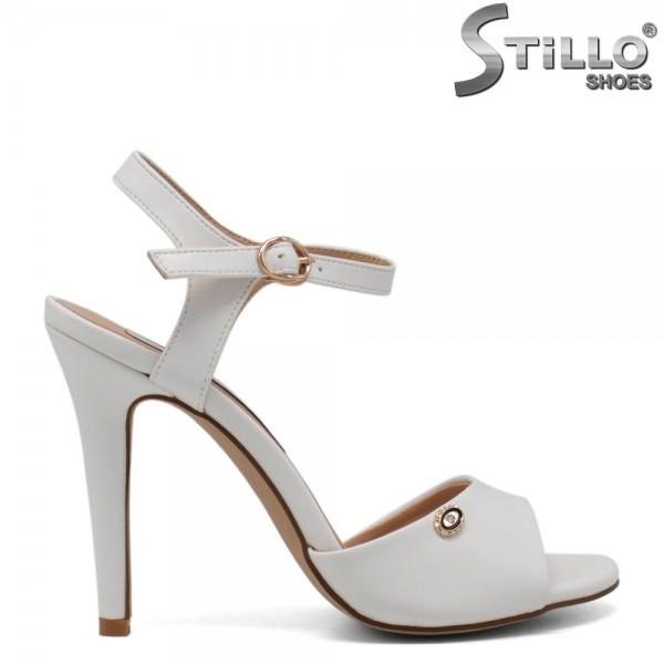 Sandale de dama elegante cu toc inalt - 30711