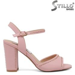 Sandale dama cu toc inalt - 30714