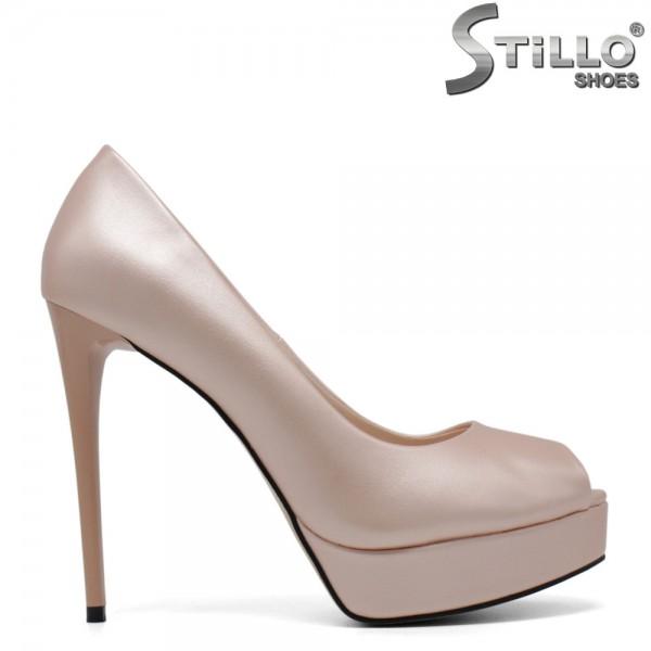 Pantofi eleganti cu partea din fata decupata - 30718