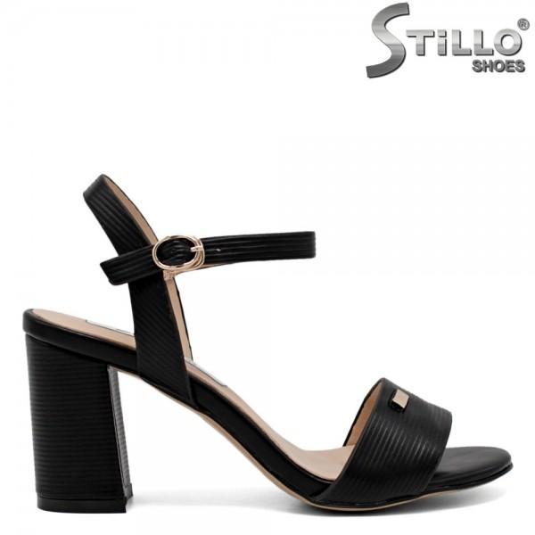 Sandale dama cu toc inalt - 30721