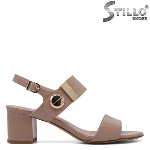 Sandale dama piele si lac - 30737