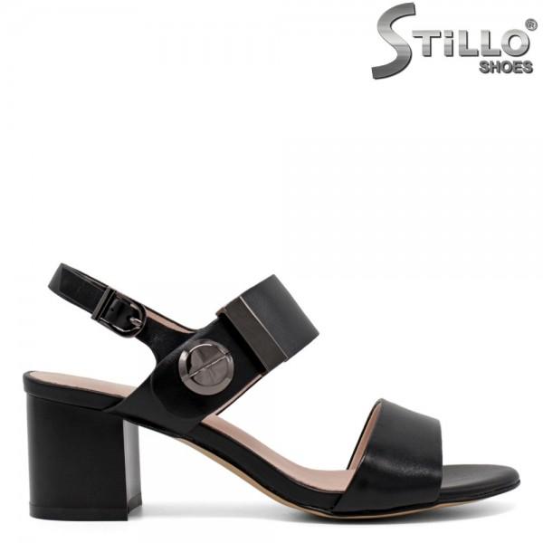 Sandale dama cu toc mijlociu - 30738