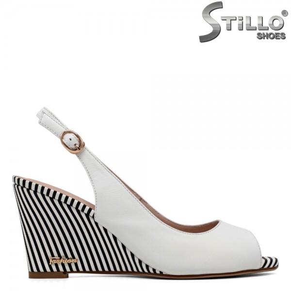 Sandale din piele naturala marimi mici incepand de la nr 34 - 30739