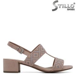 Sandale dama  velur - 30776