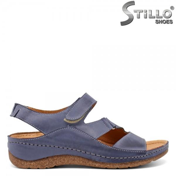 Sandale dama piele cu talpa dreapta si curelusa - 30784
