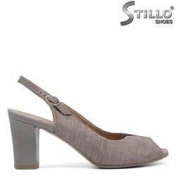 Sandale dama cu toc - 30786