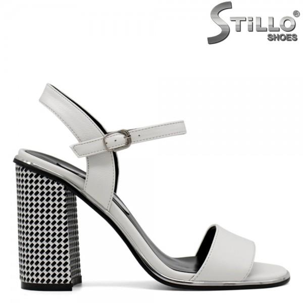 Sandale dama cu toc inalt - 30799