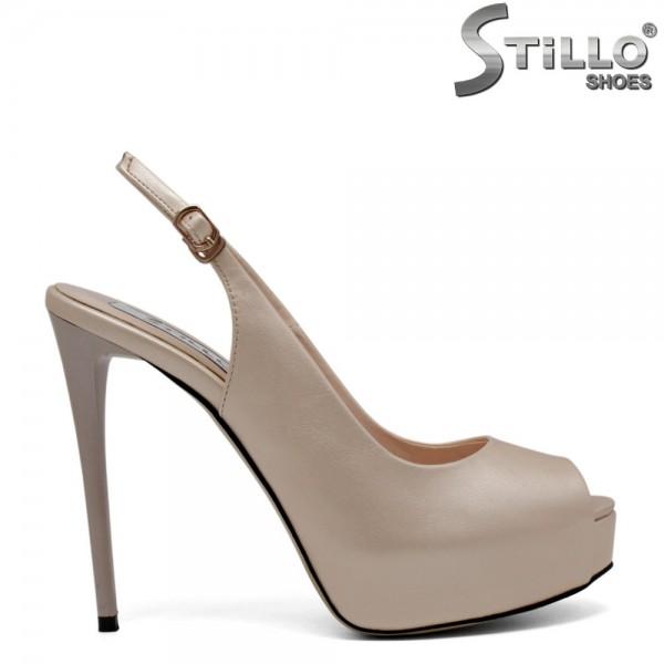 Sandale elegante cu platforma - 30800