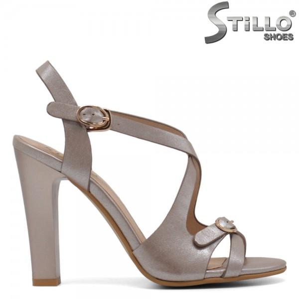 Sandale dama cu toc inalt - 30805