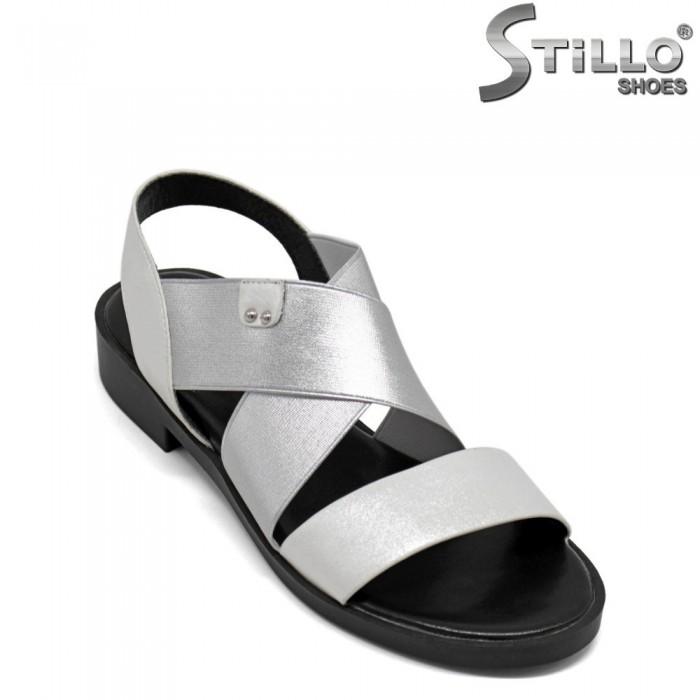 Sandale dama cu toc mic - 30807