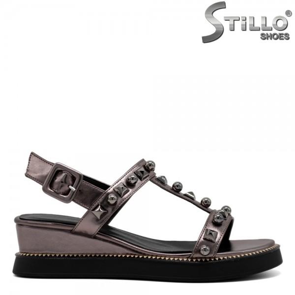Sandale dama cu rapide pe platforma - 30809