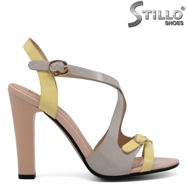 Sandale cu toc inalt - 30817