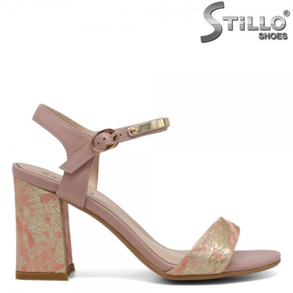 Sandale cu toc inalt - 30818