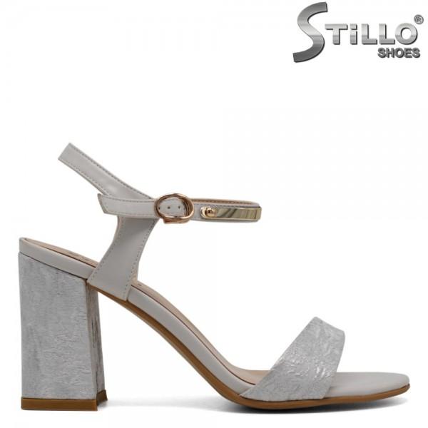 Sandale dama cu toc inalt - 30819