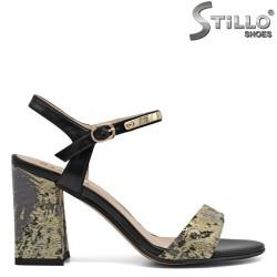 Sandale dama cu toc inalt - 30820